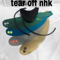 tear off + post + chin guar + talang air gp 1000. nhk rx9 terminator