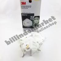 Masker Respirator 3M 9001V Anti Polusi Asap Debu PM 2.5