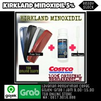 KIRKLAND MINOXIDIL + PIPET PLASTIK + SISIR