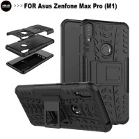 Hard Case Asus Zenfone Max Pro M1 Casing Armor Rugged Dual Layer Cover