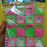 Mainan Rumah Rumahan Mainan Puzzle Rumah
