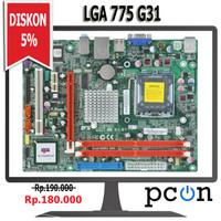 Motherboard Intel LGA 775 DD2 G31 Merk ECS