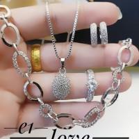 Xuping set perhiasan lapis 24k 9p012
