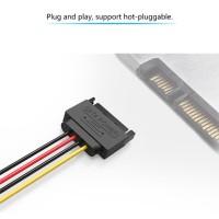Vention KDA Kabel SATA Power Extension 15 PIN Male to Female HardDisk