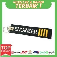 Gantungan Kunci Motor/Mobil Bordir Engineer IIII