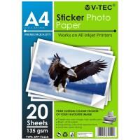Stiker Photo Foto Paper A4 135 Gsm