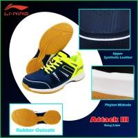 Sepatu Badminton LINING - ATTACK III / Attack 3
