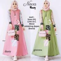Neva Maxy, Gamis Wanita best seller / Gamis Remaja / Baju murah