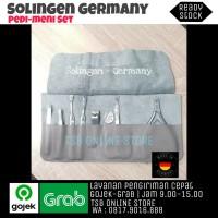 Manicure Pedicure Set Isi 8 pcs - SOLINGEN GERMANY