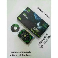 VGA CARD NVIDIA GTX750 2GB 128BIT DDR5 BARU.BERGARANSI