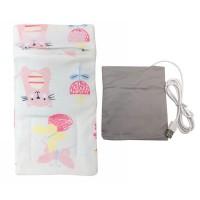 Tas Botol Susu Bayi Insulated Portable dengan Pemanas Kabel USB untuk