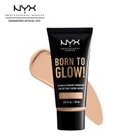 NYX Professional Make Up Born To Glow Foundation 06 Vanilla