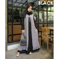 GAMIS [ Promo Flash Sale ] Mamiza Dress Size S M L XL   Dress Muslim