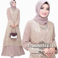 GAMIS Paramitha Dress   Gamis Muslim Wanita   Outfit Kondangan