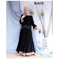 GAMIS [ Promo Flash Sale ] Adelsha Maxi Size S M L XL   Dress Muslim