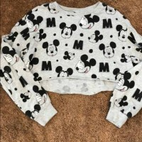 Mickey mouse Crop Top (H&M) /preloved