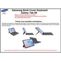 Original Samsung Bookcover Keyboard Galaxy Tab S6 Keyboard Tab S6