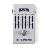 MXR SIX BAND EQUALIZER SILVER M-109S (401000631)