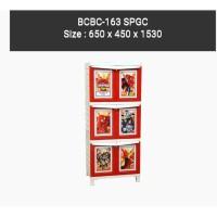 Lemari Plastik 3 Susun Napolly BCBC 163 SPGC