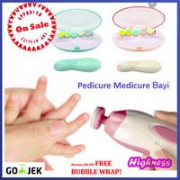 Perawatan Gunting Kuku Pedicure Medicure Bayi Anak Baby Nail Trimmer