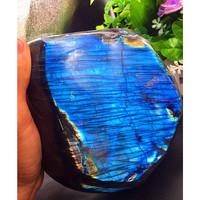 NATURAL polished Labradorite Crystal Stone Original