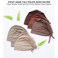 Ciput Kaos Tali Polos Basic Premium Inner Turki