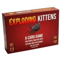 Exploding Kittens board game / card game