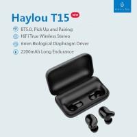 Xiaomi Haylou T15 TWS bluetooth 5.0 powerbank 2200mAh/ dock charging