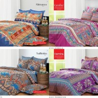 Sprei Batik Modern khas Indonesia Carmina uk Single [Harga Promo]