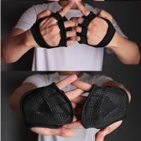MKAS Sarung Tangan Gym / Fitness Palm Protector Training Gloves (2pcs)