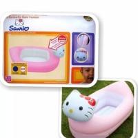 SALE !! BAK MANDI BAYI HELLO KITTY/MUNCHKIN INFLATABLE KITTY TUB