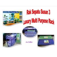 Rak Sepatu Susun 3 Luxury Multi Purpose Rack