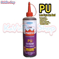 Lem Presto PU Polyurethane untuk Kayu dan Besi 650 Gram