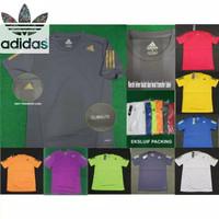 Kaos Running Pria Adidas Original Baju Olahraga Polyester Harga Pabrik