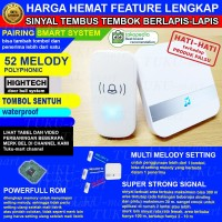 bel pintu wireless HIGHTECH 2