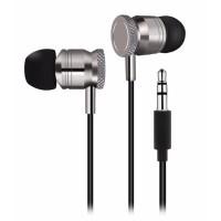 Metal Earphone Clear Bass Stereo Headphone / Headset