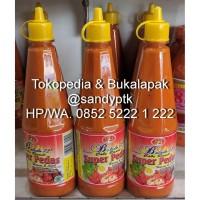 Sambal Cabe Rawit Balado 72 - Super Pedas - Pedas Manis 2 Piliha
