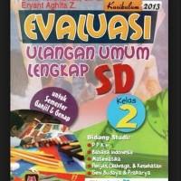 Buku Kitab Evaluasi Ulangan Umum Lengkap SD Kelas 2 Kurikulum 2013