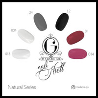 MADAME GIE NAIL SHELL PEEL OFF - KUTEK MADAME GIE PEEL OFF ORIGINAL