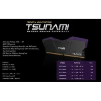 Memory RAM V-GeN TSUNAMI DDR4 8GB KIT PC-3000 1.35V (4GB x 2)