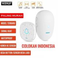 KERUI M521 Wireless Bel Rumah wireless Multi Tone Doorbell
