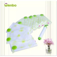 Paket Plastik Vakum Wenbo BONUS Pompa Vacuum Bag Traveling Portable