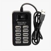 SKU-1098 USB HUB 2.0 10 PORT PANJANG KABEL 1 METER HI SPEED / 1M