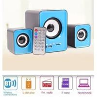 SKU-1096 SPEAKER SUBWOOFER 202BT USB 2.1 BISA RADIO / USB / BLUETOOTH