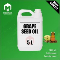 Pure Grape Seed Oil 5 Liter - Minyak Biji Anggur Murni - Cold Pressed