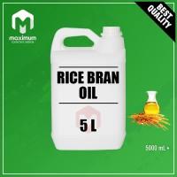 Rice Bran Oil 5 Liter / Minyak Bekatul / Minyak Dedak Padi 5 Liter