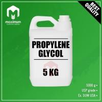 Propylene Glycol 5 Kg - PG - Propilen Glikol - USP Grade DOW USA