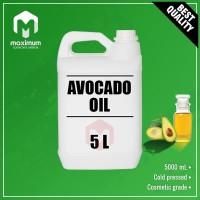 Pure Avocado Oil 5 Liter - Minyak Alpukat Murni 5 Liter - Cold Pressed