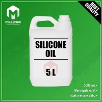 Silicone Oil 5 Liter / Minyak Silikon 5 Liter / Pelumas 5 Liter
