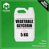 Gliserin Nabati / VG / Vegetable Glycerin Pharmateutical Grade - 5 Kg